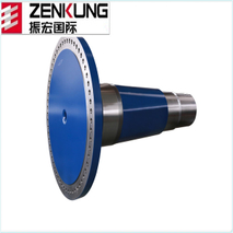 Cusotmized forged wind turbine shaft wind generator part