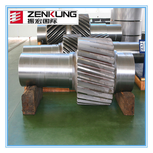 Gear wheel shaft forged gear shaft with high quality&low price made in china